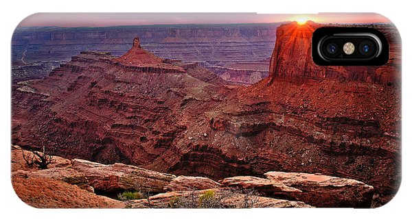 Last Light At Dead Horse Point IPhone Case