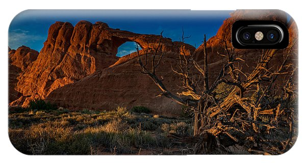 Last Light At Skyline Arch IPhone Case