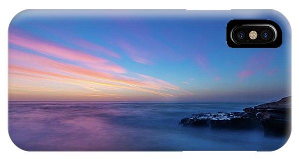 Last Light In April, Sunset Clifs IPhone Case