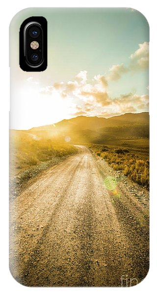 Trial iPhone Case - Last Light Lane by Jorgo Photography - Wall Art Gallery