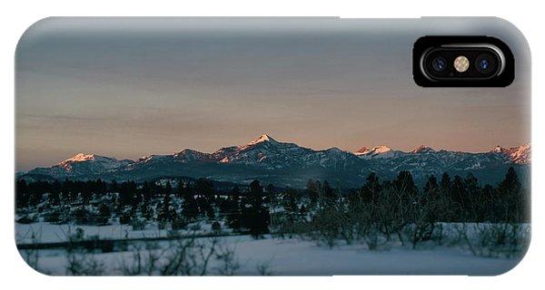 Last Light On Pagosa Peak IPhone Case
