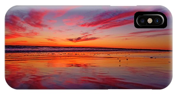 Last Light Topsail Beach IPhone Case