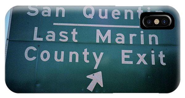 Last Marin County Exit IPhone Case