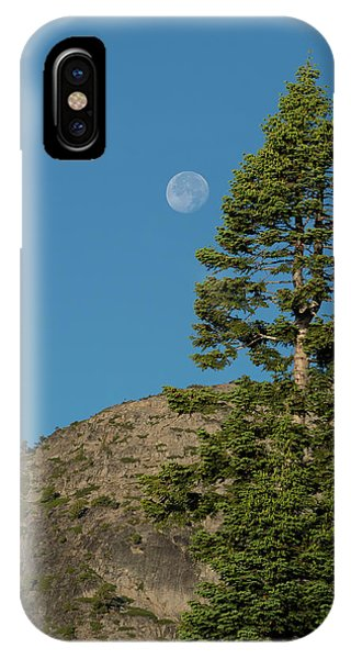 Last Moments Of A Full Moon IPhone Case