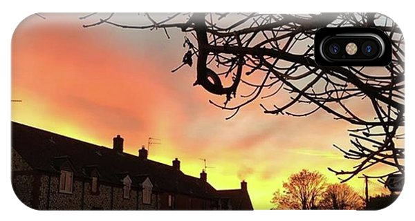 Sky iPhone Case - Last Night's Sunset From Our Cottage by John Edwards