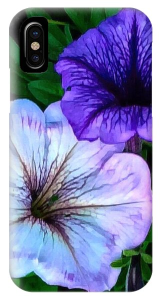 Last Of The Petunias   IPhone Case