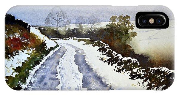 iPhone Case - Last Of The Snow by Paul Dene Marlor