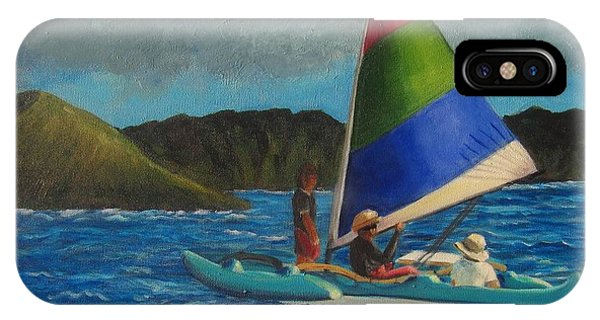Last Sail Before The Storm IPhone Case