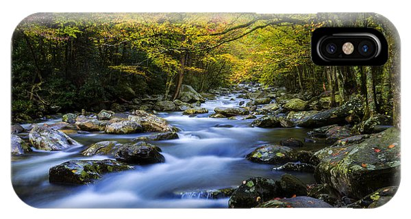 Creek iPhone Case - Last Stop by Chad Dutson