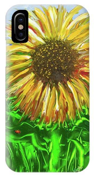 Last Sunflower IPhone Case