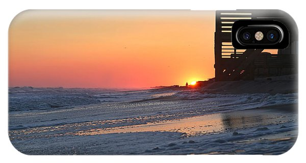 Oceanfront iPhone Case - Wish You Were Here by Betsy Knapp