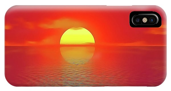 iPhone Case - Last Sunset by Harry Warrick