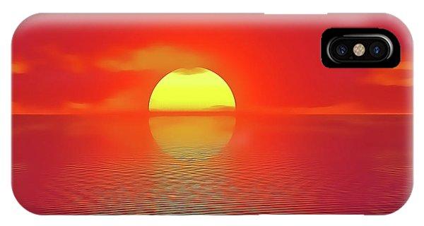 Last Sunset IPhone Case