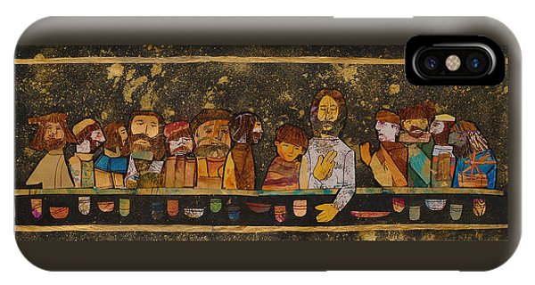 Donation iPhone Case - Last Supper 2 by Carol Cole