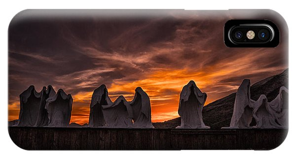 Last Supper At Sunset IPhone Case