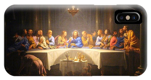 Last Supper Meeting IPhone Case
