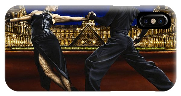 Tango iPhone Case - Last Tango In Paris by Richard Young