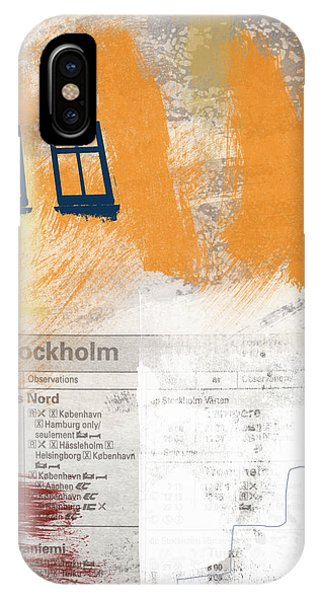 Last Train To Stockholm- Art By Linda Woods IPhone Case
