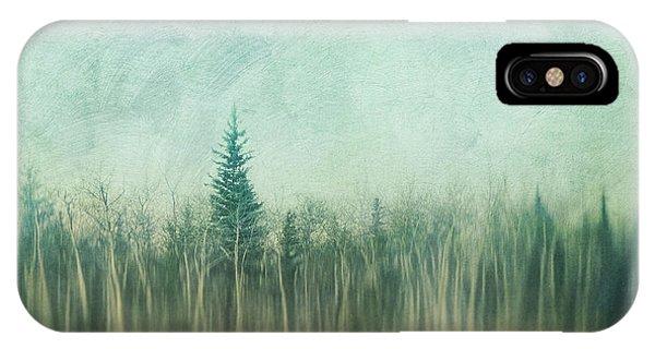Treeline iPhone Case - Last Year's Grass by Priska Wettstein