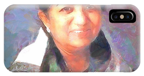 Lata Mangeshkar  IPhone Case