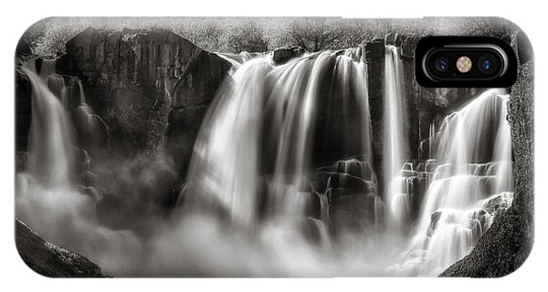 Late Afternoon At The High Falls IPhone Case