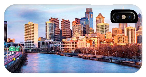 IPhone Case featuring the photograph Late Afternoon In Philadelphia by Mihai Andritoiu