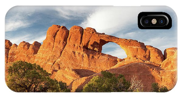 Late Afternoon Light On Skyline Arch IPhone Case