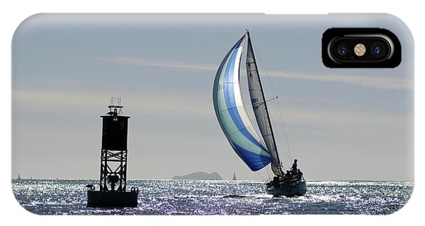 Late Afternoon Sail IPhone Case