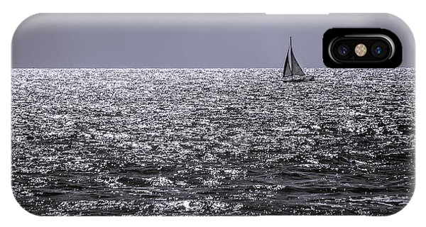 Late Afternoon Sailing IPhone Case