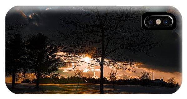 Late Afternoon Sun IPhone Case