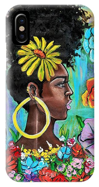 iPhone Case - Late Bloomer by Artist RiA