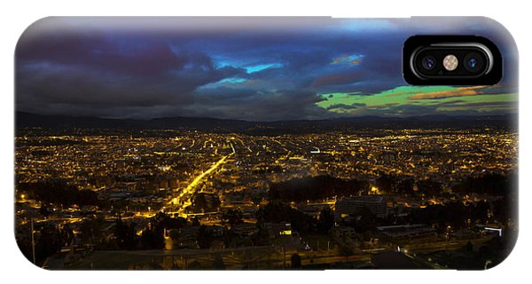 Late Dusk View Of Cuenca From Turi IPhone Case
