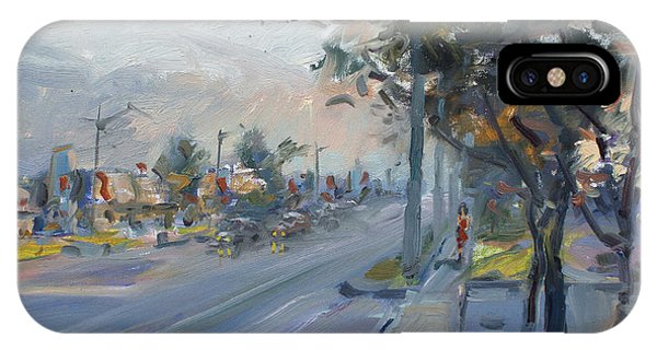Georgetown iPhone Case - Late Evening In Guelph Street Georgetown by Ylli Haruni