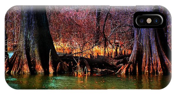 Late Evening In Reelfoot IPhone Case