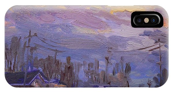 Town iPhone Case - Late Evening In Town by Ylli Haruni