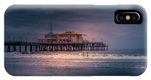 Late Evening Swim IPhone Case