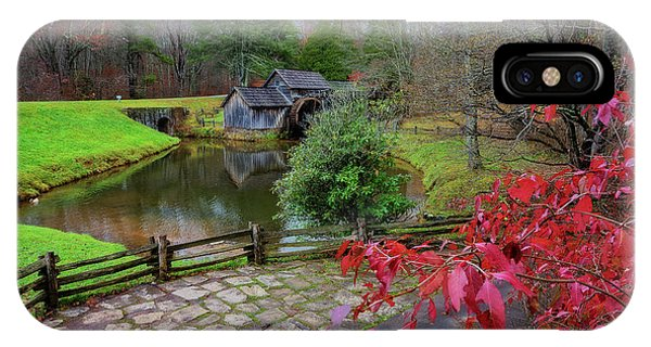 Late Fall At Mabry Mill IPhone Case