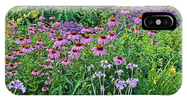 Late July Garden 2 IPhone Case
