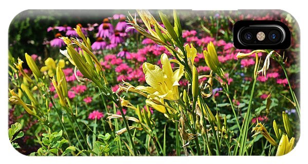 Late July Garden 1 IPhone Case