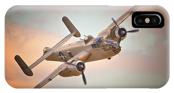 Late Return,north American B-25 Mitchell  IPhone Case