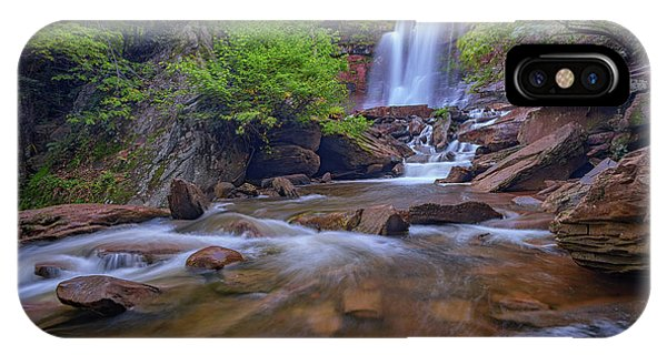Late Summer At Kaaterskill Falls IPhone Case