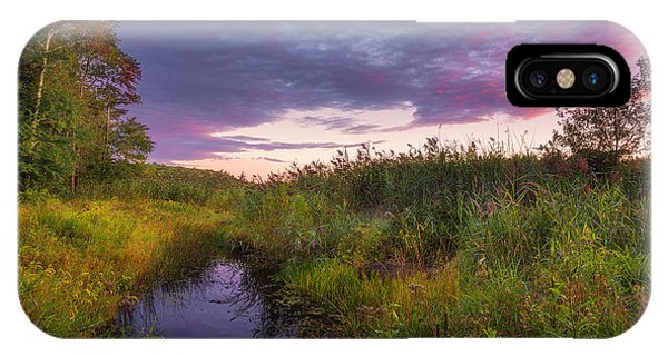 Late Summer Color At Blue Marsh IPhone Case