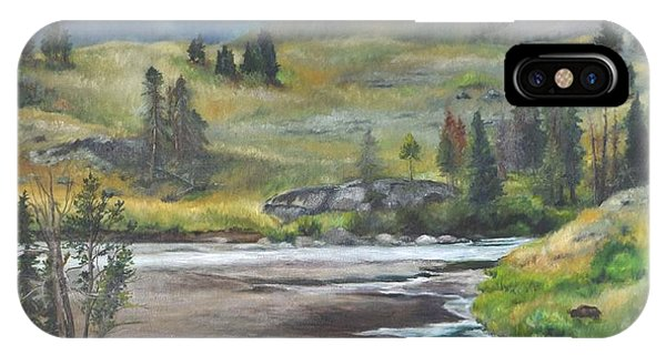 Late Summer In Yellowstone IPhone Case