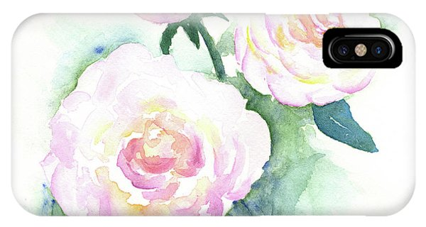 Late Summer Roses IPhone Case