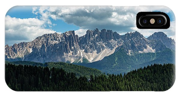 IPhone Case featuring the photograph Latemar by Andreas Levi