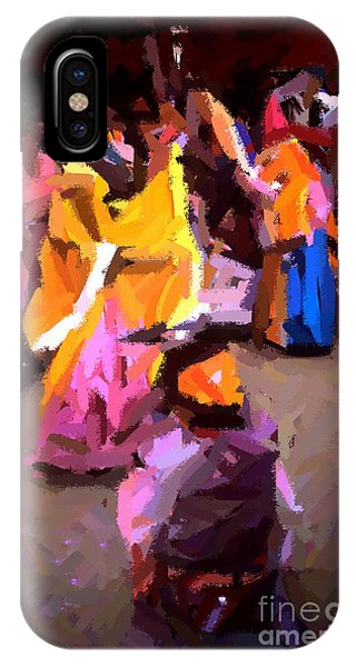 Lathmaar Holi Of Barsana-6 IPhone Case