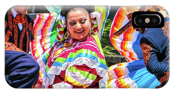 Latino Street Festival Dancers IPhone Case