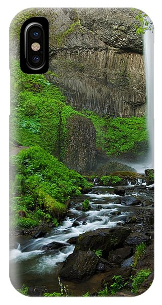 Latourell Falls Oregon IPhone Case