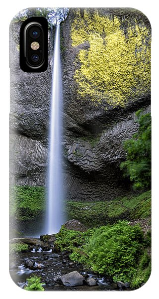 Latourell Water Fall Oregon Dsc05430 IPhone Case