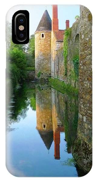 L'aubraie Tower Reflection IPhone Case